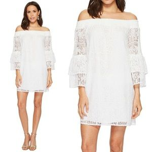Lilly Pulitzer Tobyn Lace Off The Shoulder Dress